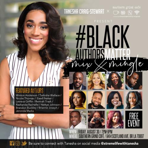 Black Authors Matter Mix & Mingle