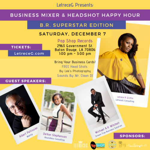 Business Mixer: B.R. Superstar Edition