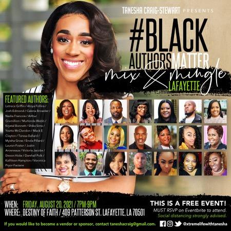 #BlackAuthorsMatter Mix & Mingle: Lafayette